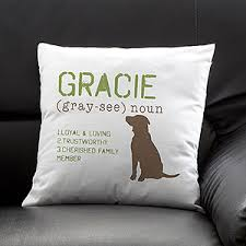 engraved pillows this is such a great gift idea for any pet or pet lover it s the