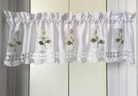 Short Valances Windows Aliexpress Com Buy 2016 Flower Kitchen Curtains Short Styles