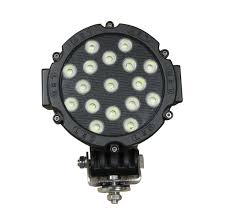 round led work light 7 inch 51 watt tuff led lights