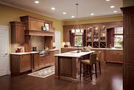 cherry kitchen cabinets with granite countertops stunning cherr