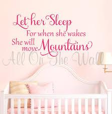 baby girl saying wall decal nursery vinyl lettering wall art zoom