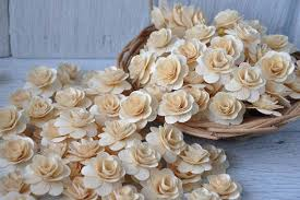 wood flowers birch wood wedding flower