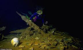 u0027s biggest ship graveyard tropical waters south pacific
