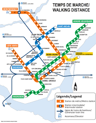 Subway Map by Montreal Subway Map With Streets My Blog