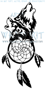 wolven dreamcatcher by wildspiritwolf on deviantart