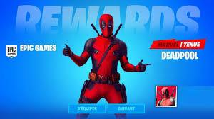 Image of Skin Deadpool Fortnite