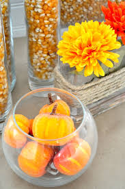 Fruit Vase Filler Budget Friendly Fall Decor Ideas The Love Nerds