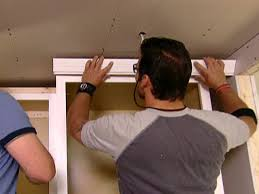 crown moulding on kitchen cabinets kitchen cabinet crown molding video diy