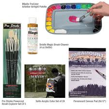 acrylic painting sets for beginners jerry u0027s artarama