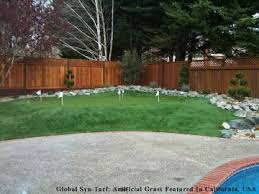 Putting Turf In Backyard Putting Greens Artificial Grass Photo Gallery By Global Syn Turf