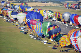 france new world record set for simultaneous air balloon flight