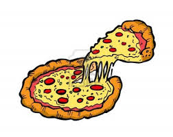 halloween clipart pizza pencil and in color halloween clipart pizza