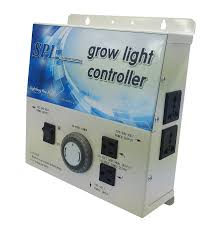 spl 8 grow light controller system with timer 240 volt