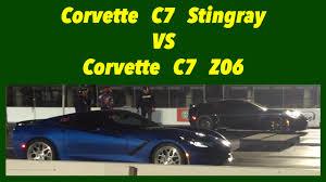 fastest c7 corvette fastest corvette stingray vs corvette z06 ocs racing