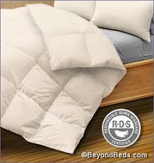 Wool Filled Duvet Comforters Goose Down Down U0026 Organic Wool 100 Silk