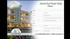 central park 3 flower valley floors south of gurgaon 09910622972