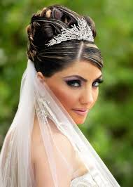 hairstyles for long hair wedding updos with veil popular long