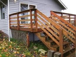 horizontal deck railing code a more decor