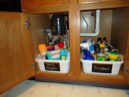 Organizing Under Kitchen Sink by 55 Best Under The Sink Organizing Images On Pinterest Home