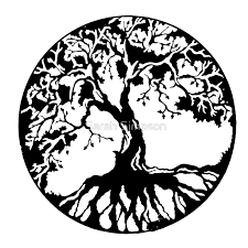 tree of black posters by redbubble