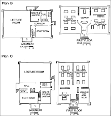 how to draw building plans plan of a building drawing clipartxtras