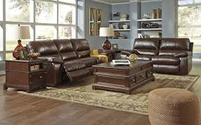 Leather Livingroom Furniture Transister Coffee Power Reclining Living Room Set From Ashley