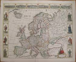 Renaissance Europe Map by Antique Maps Of Europe