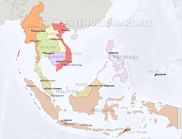 Free World Maps by Southeast Asia Maps