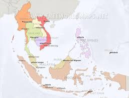 Map Of Jakarta Southeast Asia Maps