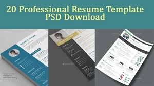 psd resume template 20 best professional resume template psd designs hub