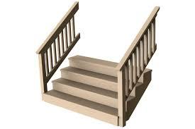 porch deck stairs configurable solidworks 3d cad model