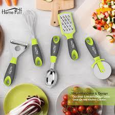 homepuff bpa free kitchen utensil cooking gadgets 5 pieces set