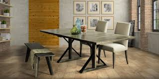 furniture rectangular ambrose dining table by saloom furniture