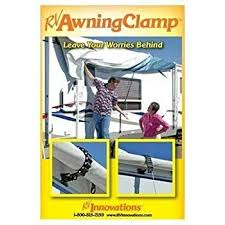 Awning Saver Amazon Com Camco 42551 Awning Clamp White Automotive