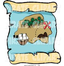 Pandas Map Map Clipart Buried Treasure Pencil And In Color Map Clipart