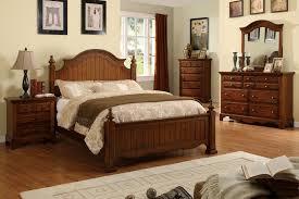 cherry oak bedroom set cherry oak 6 piece set queen