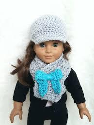 crochet pattern doll scarf 18 inch doll scarf doll crochet