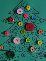 button craft christmas tree u2013 let their light shine