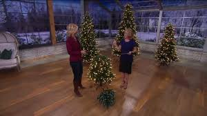 ed on air santa s best 5 frosted icicle tree by degeneres