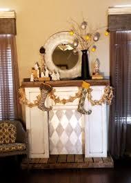 fake fireplace ideas for christmas home design ideas