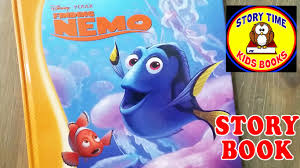 finding nemo story book for children read aloud out loud