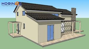 1 story house with attic is 126a κοφινάς