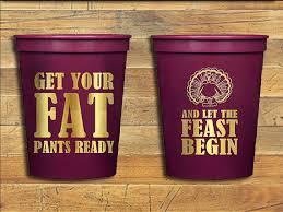 thanksgiving cups custom stadium cups thanksgiving thanksgiving cups table