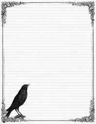 Halloween Letters Printable by Penpal Of The Week Free Halloween Printables