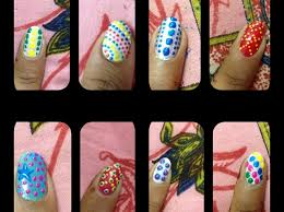 how to create diy easy nail art designs jus with a dot snapguide