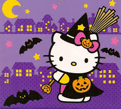 halloween background colors hello kitty halloween background 50 hello kitty wallpaper and