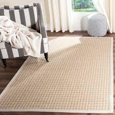 Wool Sisal Area Rugs Safavieh Light Grey Wool Sisal Area Rug 5 X 8 889048138476 Ebay