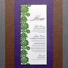wedding menu cards template blank menu cards wedding reception 21gowedding