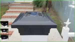 lighting 5x5 solar post cap lights cape may designer solar