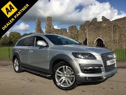 Audi Q7 Suv - used silver audi q7 for sale swansea